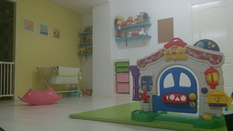 Aula Amarilla, espaciosa y muy tranquila.
