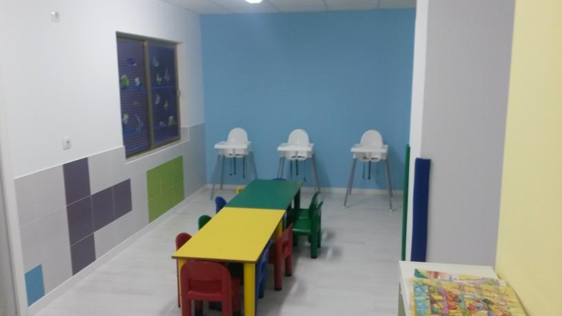 Mesas aula azul Comedor